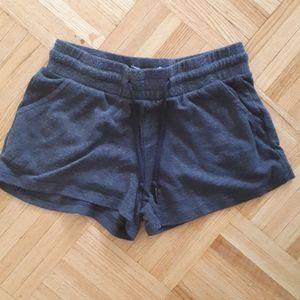Short shorts gray